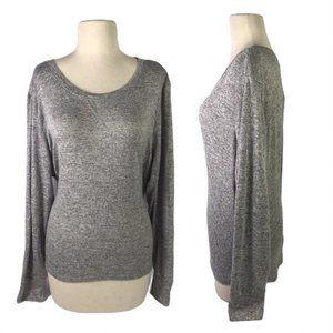NEW Xhilaration Womens XL Pajama Top Grey